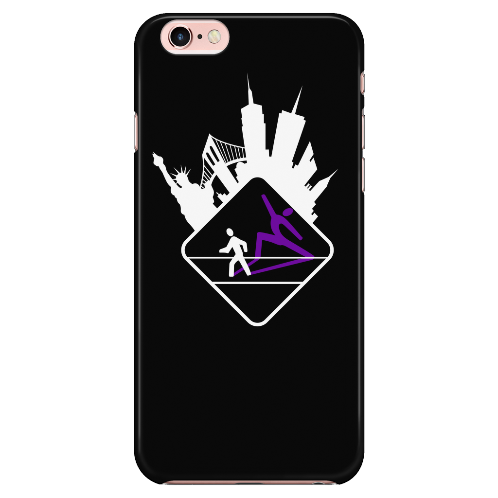 Pedestrian Wanderlust Black iPhone 7/7s Case