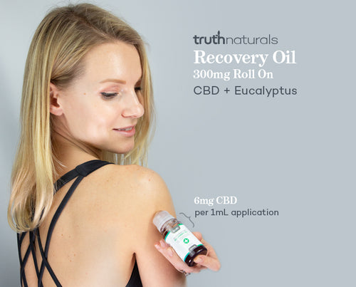 Recovery Oil- Fast Relief From Muscle Soreness