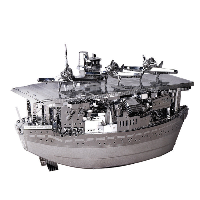 3D Metal Puzzle Aircraft Carrier Model Kits