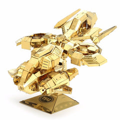 3D Metal Puzzle Thunder Hawk Spacecraft Model Kits