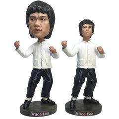 Bruce Lee Figure Toy Enter the Dragon Bobblehead Figurine Doll