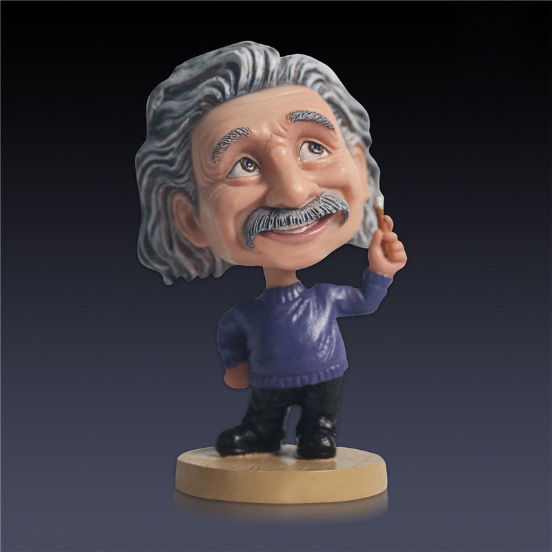 Albert Einstein Bobblehead Collectible Figure Toy