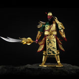 Three Kingdoms Guan Yu 3D Metal Puzzle Model Kits