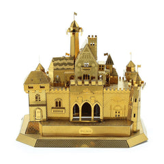 3D Metal Puzzle Fantasy Castle Model Kits