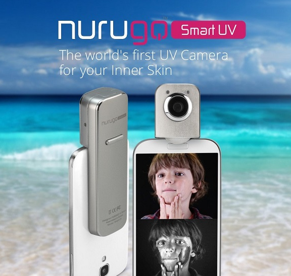 Nurugo SmartUV - See Your Sun Protection