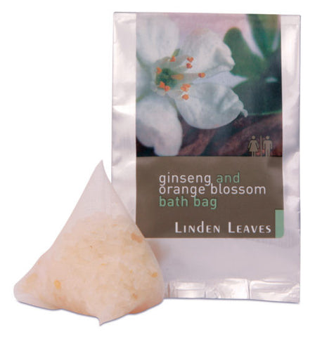 Linden Leaves Ginseng & Orange Blossom Bath Bag