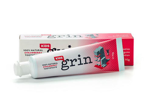 Grin Toothpaste - Kids Strawberry