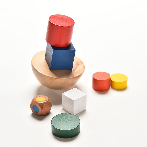 Children's Balancing Game with Geometric Shapes (2 - 4 y/o)