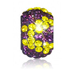 2203 | Sparklies® - Purple & Yellow Zebra