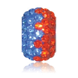 2750 | Sparklies® - Blue & Orange Zig-Zag