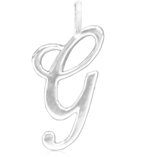 800G | Sterling Silver Pendant - G