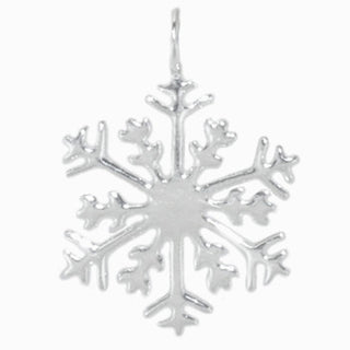 8018 | Sterling Silver Pendant - Snow Flake