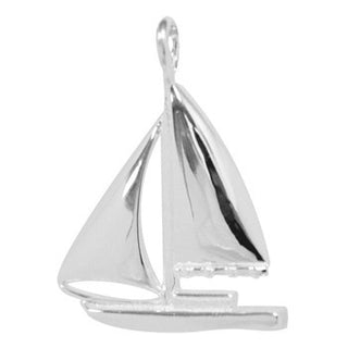 8025 | Sterling Silver Pendant - Sailboat