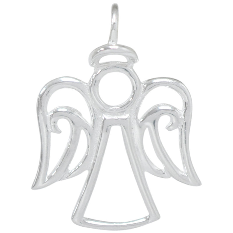 8028 | Sterling Silver Pendant - Angel