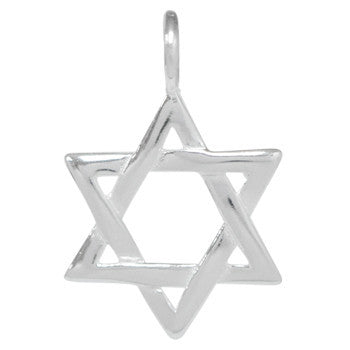 8035 | Sterling Silver Pendant - Star of David