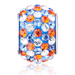 1804 | Sparklies® - Blue & Orange Speckled