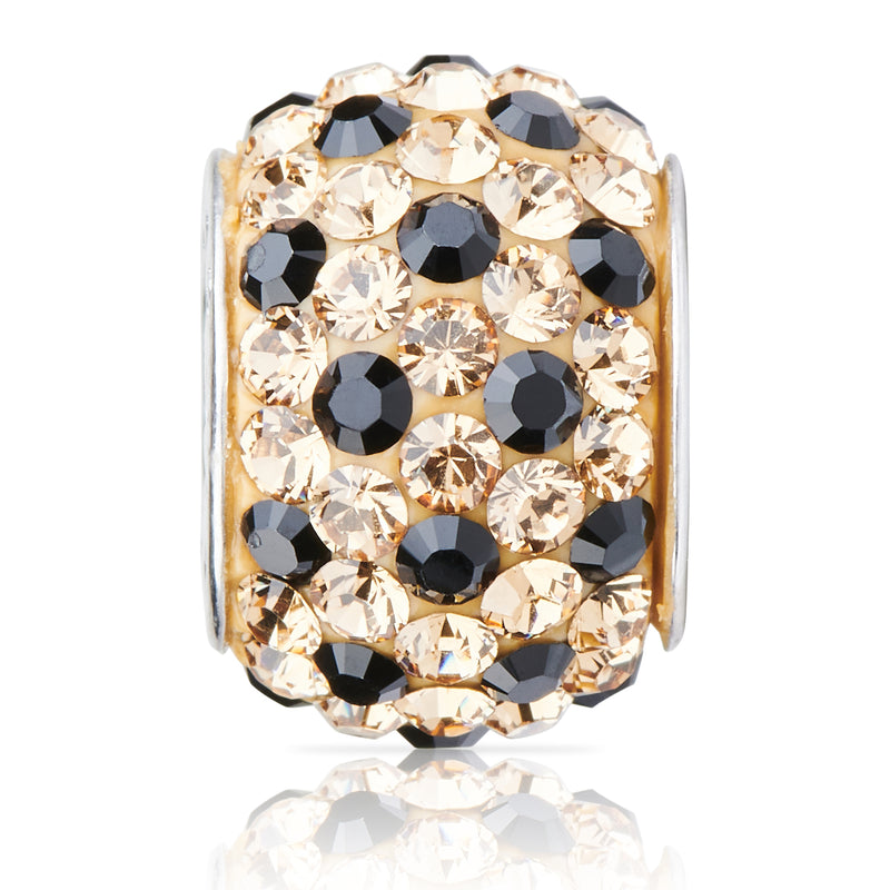 1813 | Sparklies® - Gold & Black Polka Dot