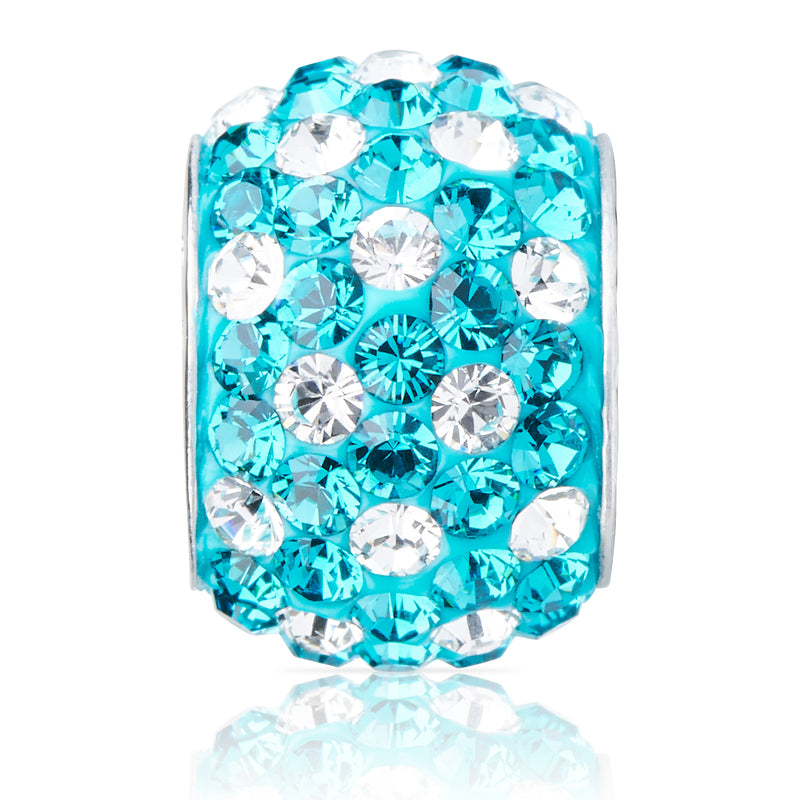 1835 | Sparklies® - Teal & White Polka Dot