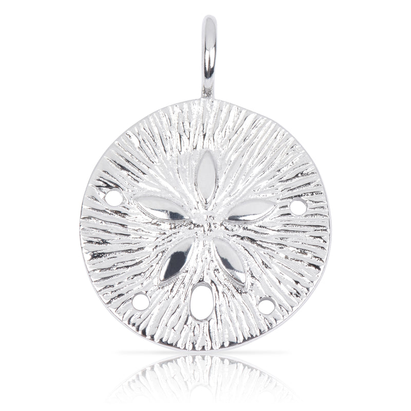 8009 | Sterling Silver Pendant - Sand Dollar