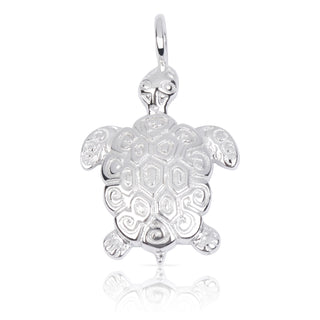 8034 | Sterling Silver Pendant - Turtle