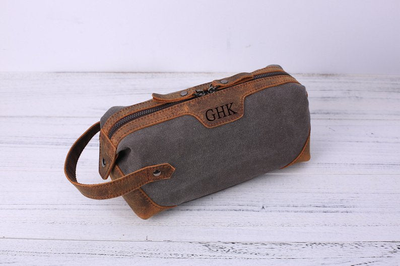 Groomsmen Gift,Groomsman Gift,Personalized Toiletry Bag,6 Color Dopp Kit,Travel Shaving Kit,Boyfriend Gift,Wedding Proposal,Gift For Men