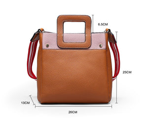 10 Best Leather Handbags For Women, Designer Shoulder Bag 6108 - echopurse