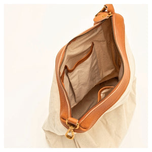 Brown Color Full Grain Leather Tote Bag, Vintage Style Handbags BF178 - echopurse