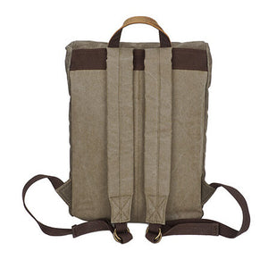 Canvas Backpack, Vintage Waterproof Travel Fashion Bag For Man YD162 - echopurse