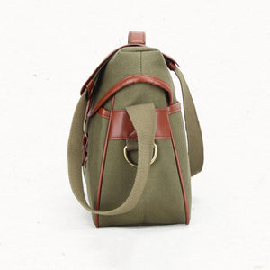 Canvas DSLR Camera Bag Stylish Camera Shoulder Bag Messenger Bag Men Satchel Bag - echopurse