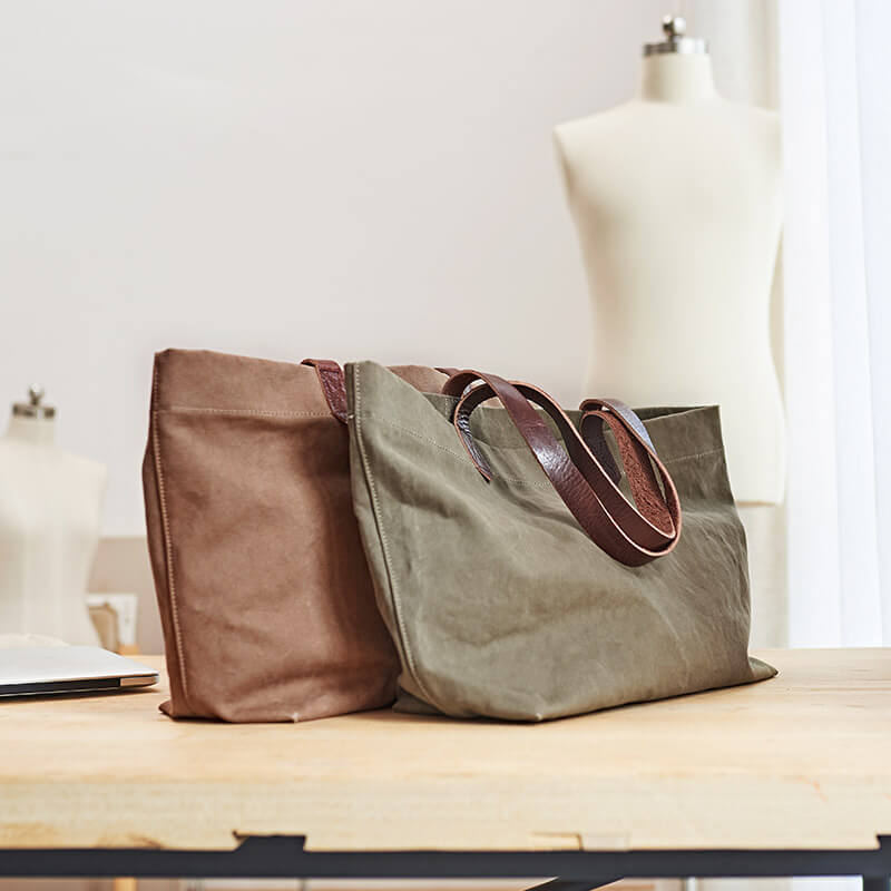 2 Color Available Canvas Tote Bag, Large