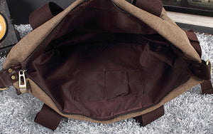 Canvas Travel Bag, Protable Duffel Bag, Gym Handbag BDB029 - echopurse