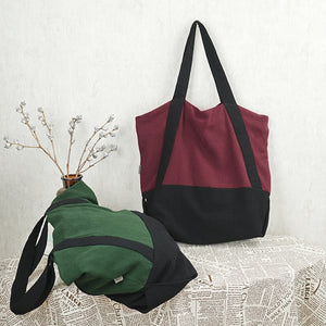 Cotton And Linen Totes, Women Gifts, Vintage Handbags, Best Gift For Girls D015 - echopurse