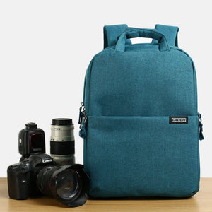 Camera and Lens Backpack for Men or Women, Multi-functional Waterproof Digital DSLR Camera Bag - echopurse