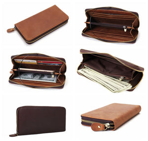 Full Grain Leather Wallet Giveaway On Facebook - echopurse