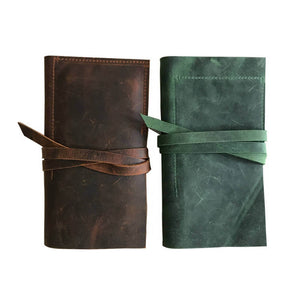 Handmade Best Leather Travel Wallet, Full Grain Leather Men's Clutch, Vintage Card Holder Long Wallet NX005 - echopurse