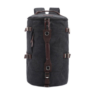High-Grade Men's Luggage Bag, Shoulder Bag, Canvas Travel Backpack, Handbag L3006 - echopurse