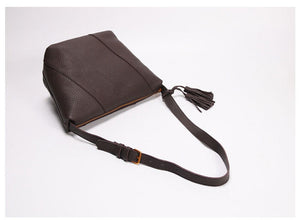 Leather Crossbody Bag, Handmade Women Shopper Bag 3785S