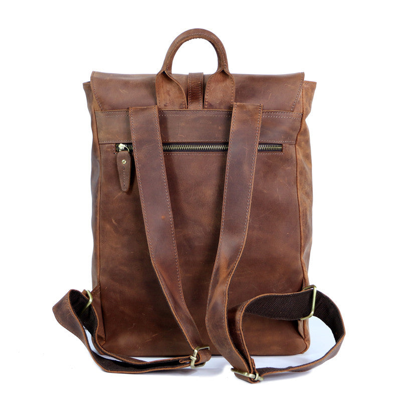 Leather School Backpack 5791207c93303