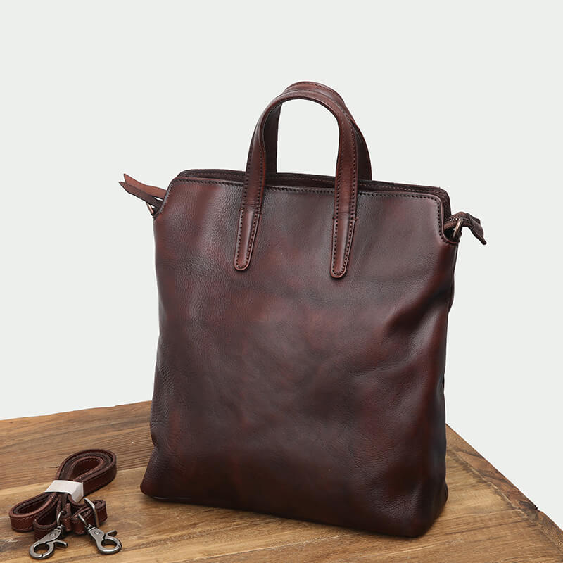 Leather Tote Bag ...
