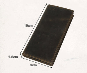 Men's Leather Business Wallet, Top Grain Leather Mans Wallets CN4032 - echopurse