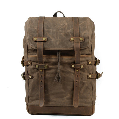 7458ab3d70d1 Retro Canvas Travel Backpack
