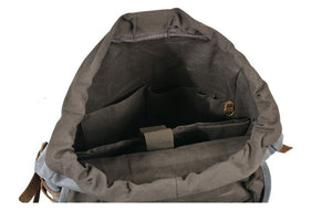 Retro Canvas Travel Backpack, Coffee Computer Rucksack, Mountaineering Shoulder Bag B159 - echopurse