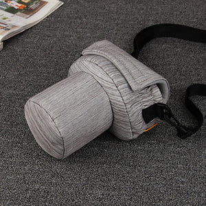 Simple Canon SLR Camera Bag, Photography Bag, Carrying Case For EOS Nikon Pentax Olympus HXA21 - echopurse