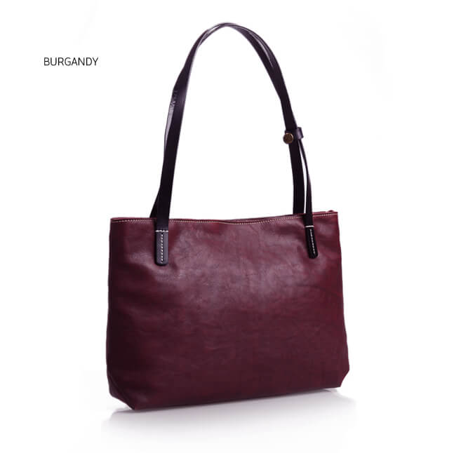2ede6bad2de5 Vegetable Tanned Leather Tote Bag