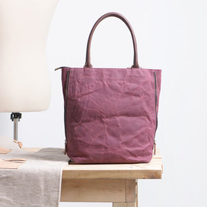 Women's Tote Bags, Women's Handbag, Canvas And Leather Diaper Purses NX1007