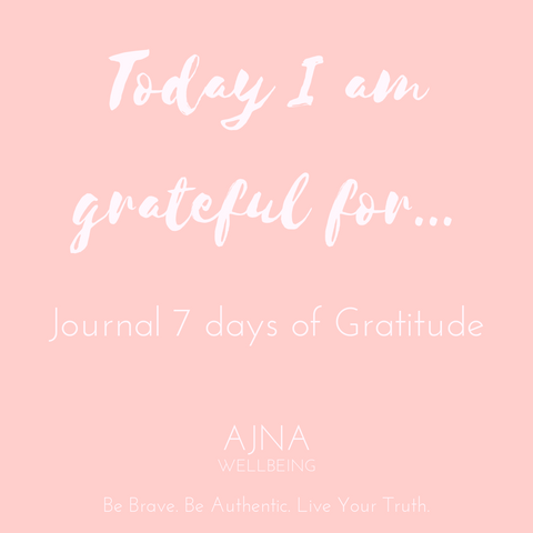 7 Days of Gratitude Journal