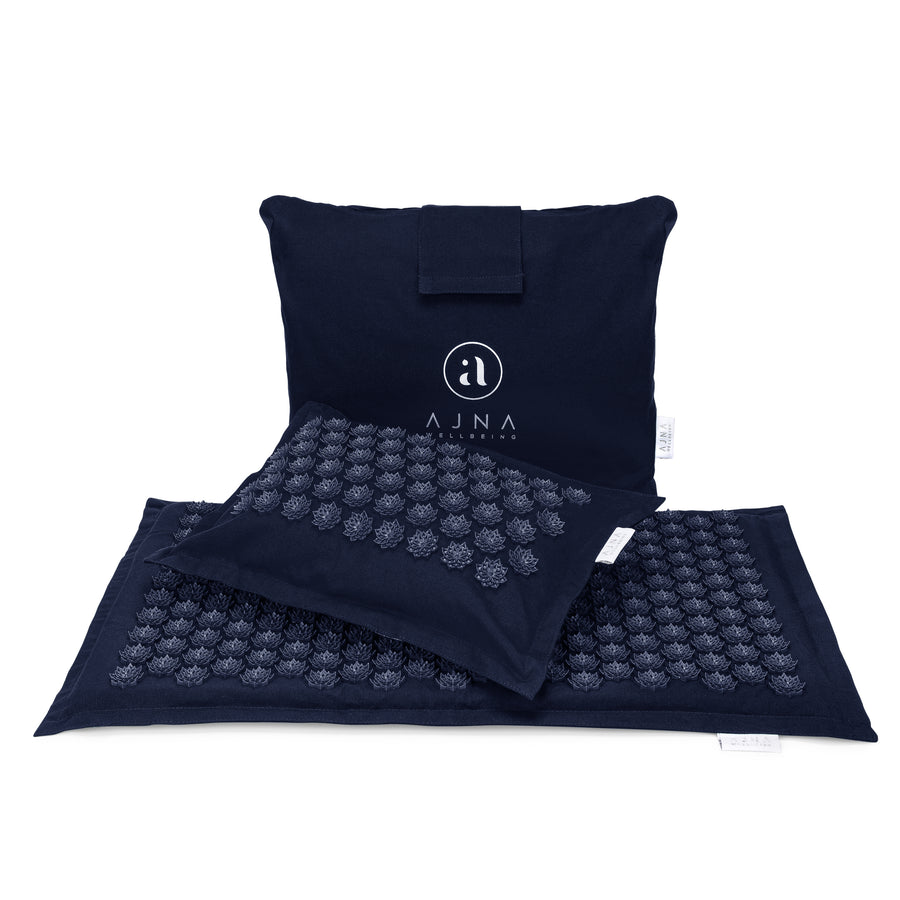 Ajnamat- Eco Lite Acupressure Mat & Pillow Set