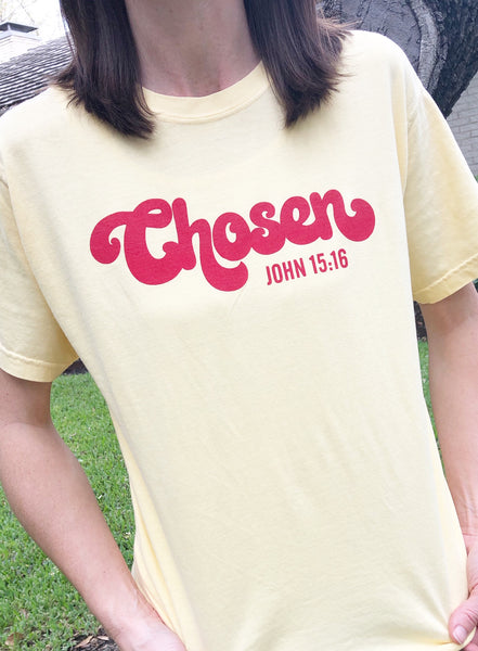 "Yellow ""Chosen"" Tee"