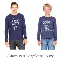 2017 His Chase Youth LONG SLEEVE - Navy