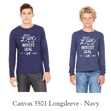2017 His Chase LONG SLEEVE - Navy